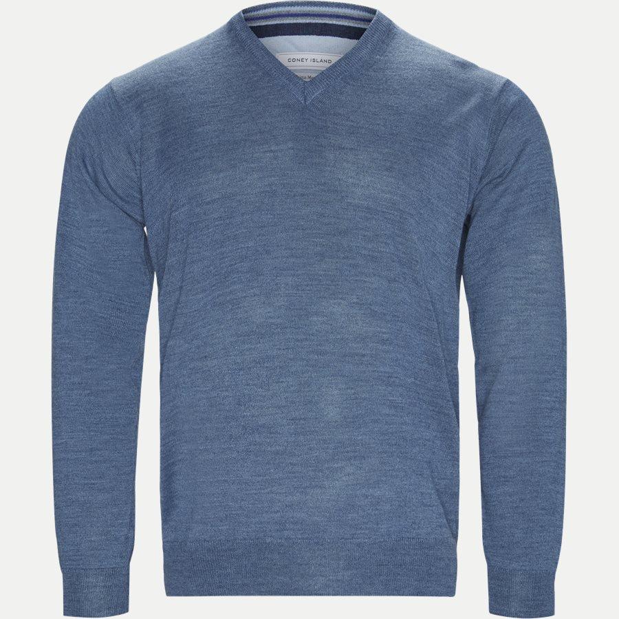 SMARALDA - Knitwear - Regular - DENIM MELANGE - 1
